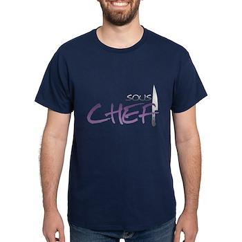 Purple Sous Chef Dark T-Shirt