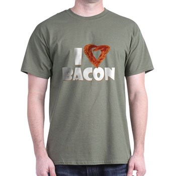 I Heart Bacon Dark T-Shirt