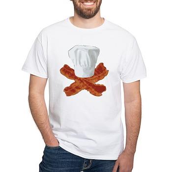 Bacon Chef White T-Shirt