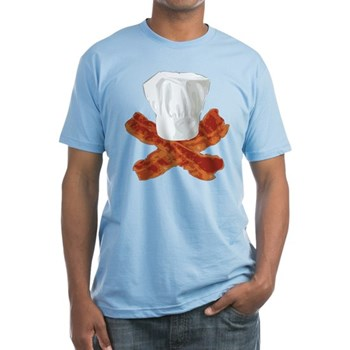 Bacon Chef Fitted T-Shirt
