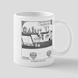 Uri Geller's First Job Mug