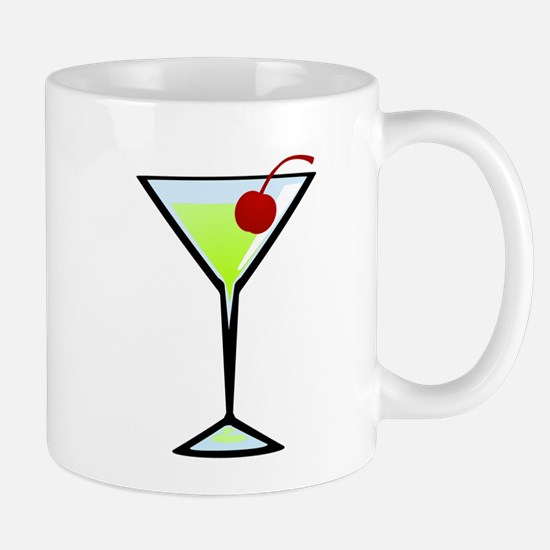 Green Apple Martini Mug