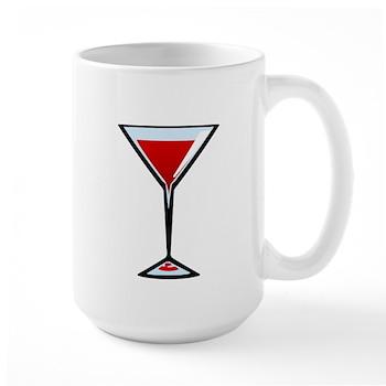 Vampire Martini Large Mug