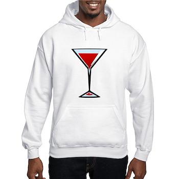 Vampire Martini Hooded Sweatshirt