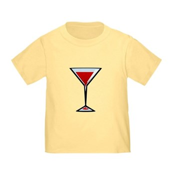 Vampire Martini Toddler T-Shirt