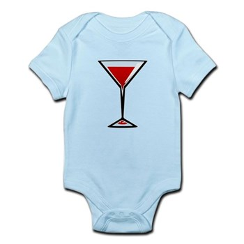 Vampire Martini Infant Bodysuit