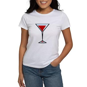 Vampire Martini Women's T-Shirt
