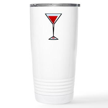 Vampire Martini Stainless Steel Travel Mug