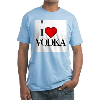 I Heart Vodka Fitted T-Shirt