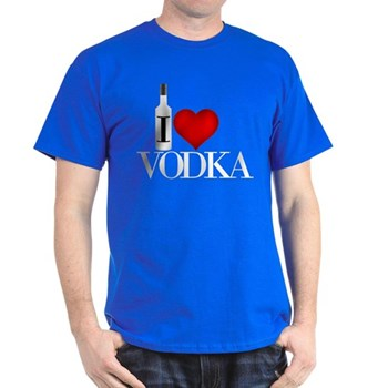 I Heart Vodka Dark T-Shirt