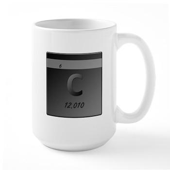 Carbon (C) Large Mug