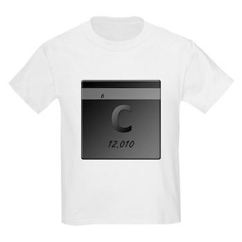 Carbon (C) Kids Light T-Shirt