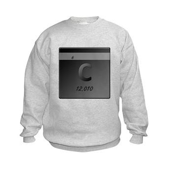 Carbon (C) Kids Sweatshirt