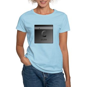 Carbon (C) Women's Light T-Shirt