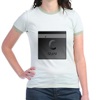 Carbon (C) Jr. Ringer T-Shirt