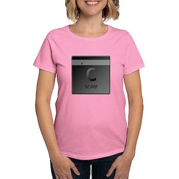Carbon (C) Women's Dark T-Shirt