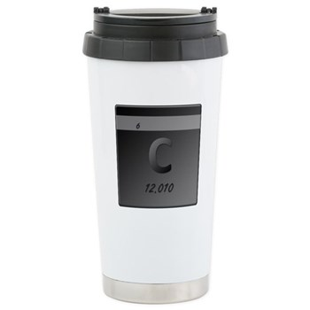 Carbon (C) Stainless Steel Travel Mug
