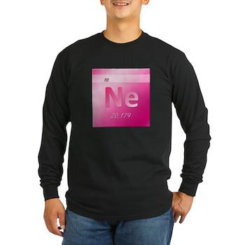 Neon (Ne) Long Sleeve Dark T-Shirt