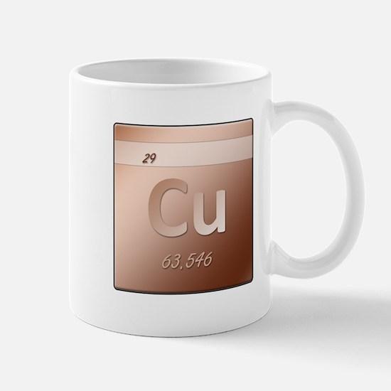 Copper (Cu) Mug