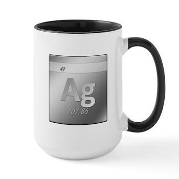 Silver (Ag) Large Mug