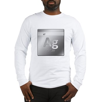 Silver (Ag) Long Sleeve T-Shirt