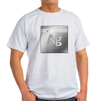 Silver (Ag) Light T-Shirt