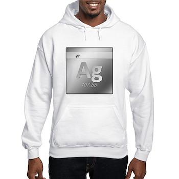 Silver (Ag) Hooded Sweatshirt