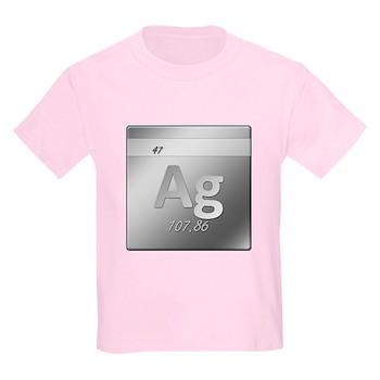 Silver (Ag) Kids Light T-Shirt
