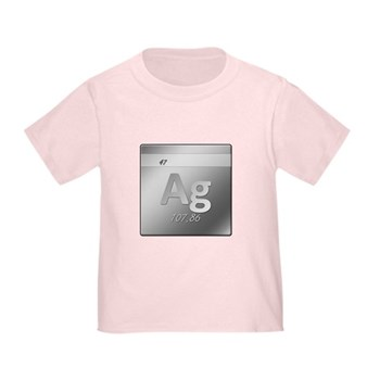 Silver (Ag) Toddler T-Shirt