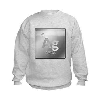 Silver (Ag) Kids Sweatshirt