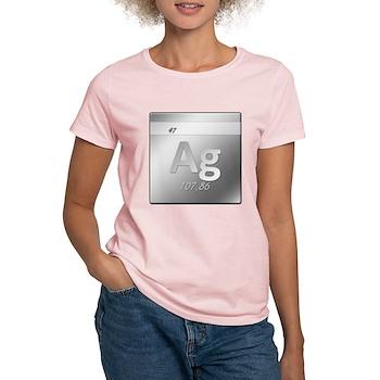 Silver (Ag) Women's Light T-Shirt