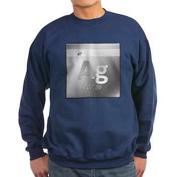 Silver (Ag) Dark Sweatshirt