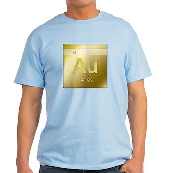 Gold (Au) Light T-Shirt