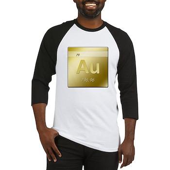 Gold (Au) Baseball Jersey