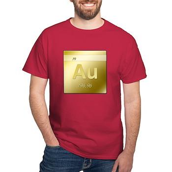 Gold (Au) Dark T-Shirt