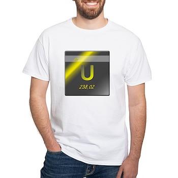 Uranium (U) White T-Shirt