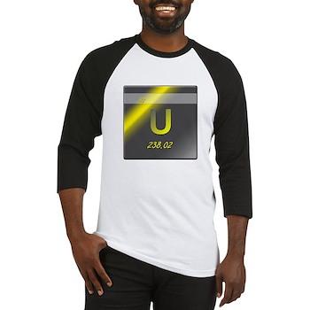 Uranium (U) Baseball Jersey