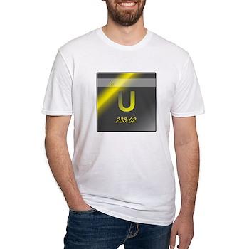 Uranium (U) Fitted T-Shirt