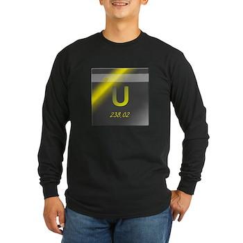Uranium (U) Long Sleeve Dark T-Shirt
