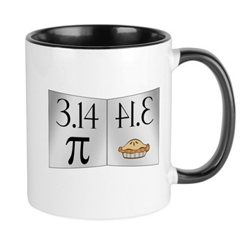 PI 3.14 Reflected as PIE Mug