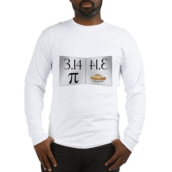 PI 3.14 Reflected as PIE Long Sleeve T-Shirt