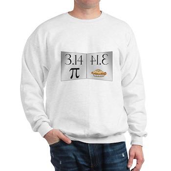 PI 3.14 Reflected as PIE Sweatshirt