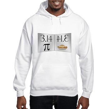 PI 3.14 Reflected as PIE Hooded Sweatshirt