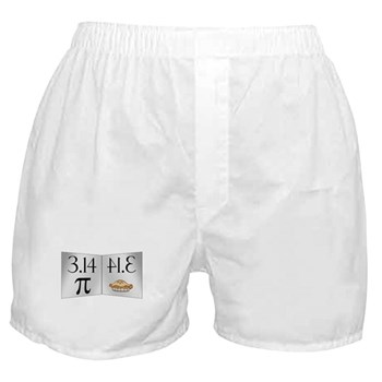 PI 3.14 Reflected as PIE Boxer Shorts
