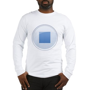 Stop Button Long Sleeve T-Shirt