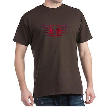 Tribal Skull Tattoo Dark T-Shirt