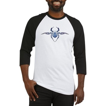 Tribal Spider Tattoo Baseball Jersey