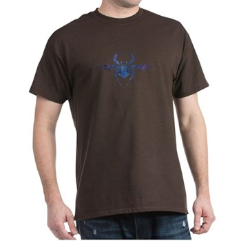 Tribal Spider Tattoo Dark T-Shirt