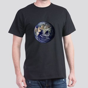 Eastern Earth from Space Dark T-Shirt