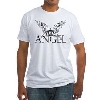 Team Angel Fitted T-Shirt